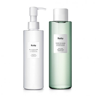 [Huxley] Cleansing Duo (Cleansing Water + Cleansing Gel)