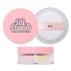 [3 Concept Eyes] Studio Blur Filter Powder #Peachy