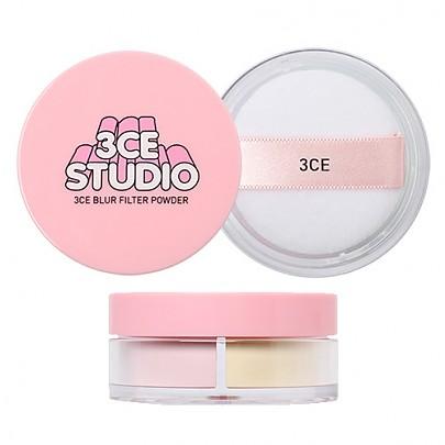 [3 Concept Eyes] Studio Blur Filter Powder #Peachy