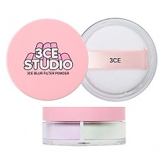 [3 Concept Eyes] Studio Blur Filter Powder #Pale