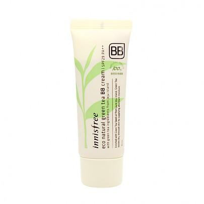 [Innisfree] Eco Natural Greentea BB Cream #01 (Bright SKin)