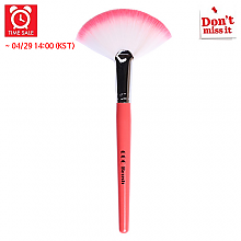 [CORINGCO] *Time Deal*  Pink in Pink Fan brocha