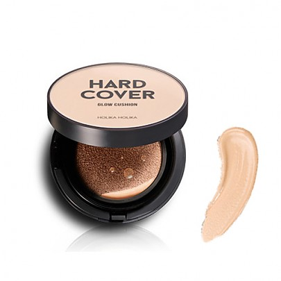[Holika Holika] Hard Cover Glow Cushion 01 Warm Ivory