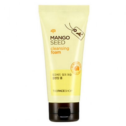 [The Face Shop] Mango Seed Silk Moisture Cleansing Foam