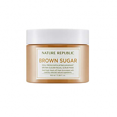 [Nature Republic] Real Fresh Brown Sugar mascarilla