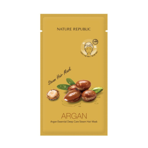 [Nature Republic] Argan Essential Deep Care Steam Hair mascarilla