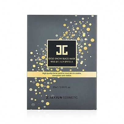 [JAYJUN] Gold Snow Black Mask (2step 5pcs)