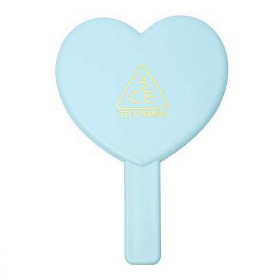 [3 Concept Eyes] Love 3CE Heart Espejo de Mano (Azul)