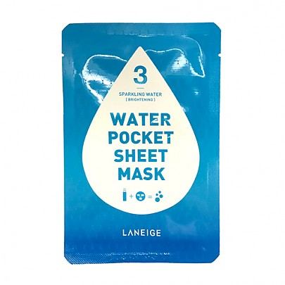 [Laneige] Water Pocket Sheet mascarilla #Sparkling Water
