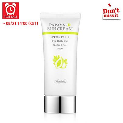[Benton] *Time Deal*  Papaya-D Crema solar