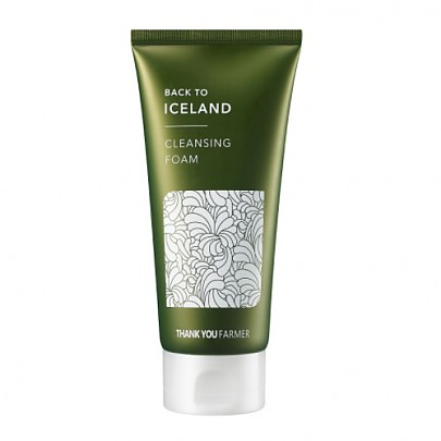 [Thank you Farmer] Back To Iceland Cleansing Foam 120ml