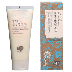 [WhaMiSa] Organic Flowers Form Cleansing crema