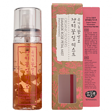 [WhaMiSa] Organic Flowers Damascarilla Rose Petal Mist 80ml
