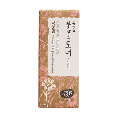 [WhaMiSa] Organic Flowers Toner Deep Rich 120ml