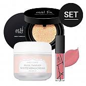 [CHICA Y CHICO] Simple Makeup Set (Nude Fantasy Whitening crema+Matt Cushion #22 + Matt Lip #03)