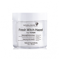 [Natural Pacific] Fresh Witch Hazel Pad Toner