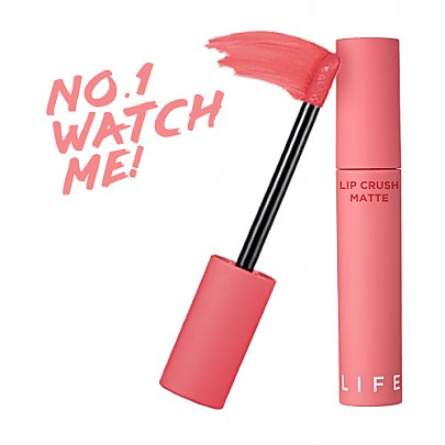 [It's Skin] Life Color Lip Crush Matte #01 (Watch Me)