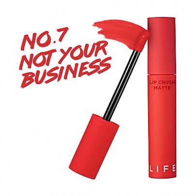 [It's Skin] Life Color Lip Crush Matte #07 (Not Your Business)