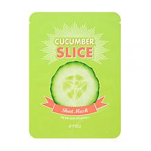 [A'PIEU] Cucumber Slice Mask