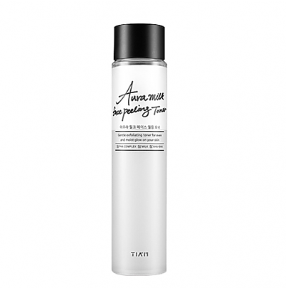 [Tiam] Aura milk face peeling toner 120ml