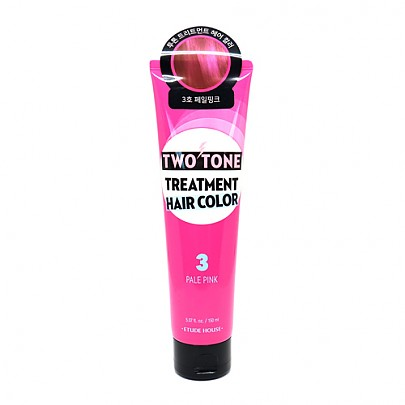 [Etude house] Two Tone Treatment Hair Color #03 (Pale Pink)