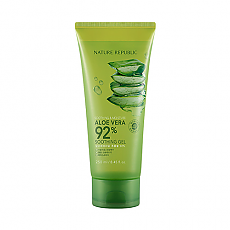 [Nature Republic] Aloe Vera Soothing Gel, 92% Soothing and Moisture 250ml (Tube Type)