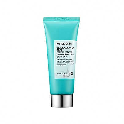 [Mizon] BLACK CLEAN UP PORE DEEP CLEANSER 120ml