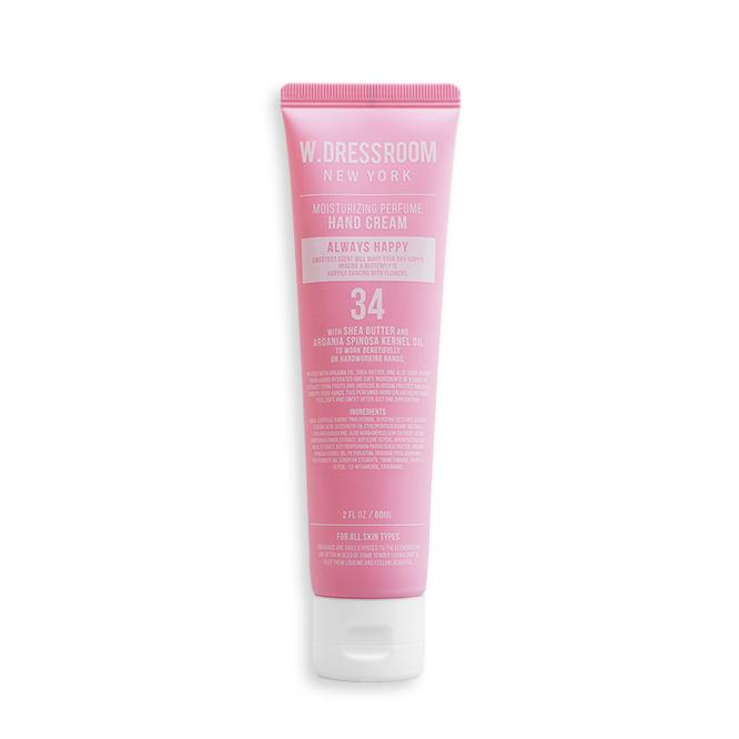 [W.DRESSROOM] Moisturizing Perfume Hand Cream No.34 (Always Happy) 60ml