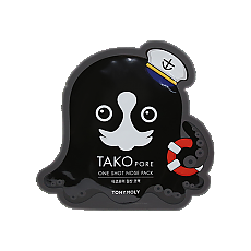 [Tonymoly] TaKo Pore One Shot Nose Pack 1hoja