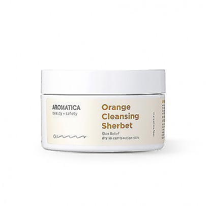 [Aromatica] Orange Cleansing Sherbet