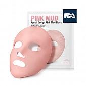 [So natural] Facial Design Deep Pink Mud mascarilla