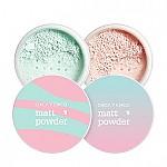 [CHICA Y CHICO] Matt Powder #01 (Pink)