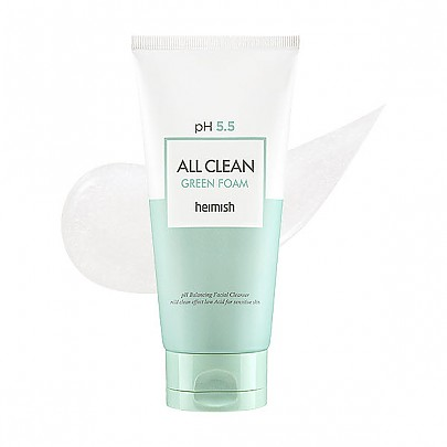 [heimish] pH 5.5 All Clean Green Foam 150ml