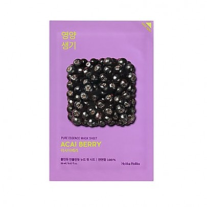 [Holika Holika] Pure Essence Mask Sheet (Acai Berry)