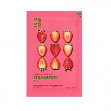 [Holika Holika] Pure Essence mascarilla Sheet (Strawberry)