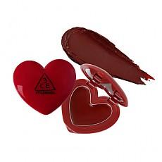 [3CE] Labios de Heart Pot (Rojo de ladrillo)