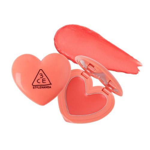 [3CE] Heart Pot Lip (Coral)
