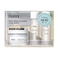[Huxley] Extra Moisture Limited (Cream; More Than Moist 1ea + Toner; Extract It 4ea)