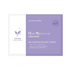 [Nature Republic] Real Comforting mascarilla Sheet (Ceramide)