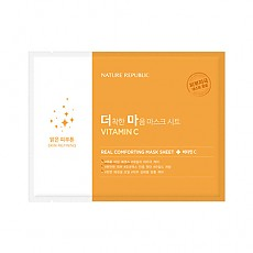 [Nature Republic] Real Comforting Mask Sheet (Vitamin C)