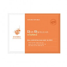[Nature Republic] Real Comforting mascarilla Sheet (Vitamin E)