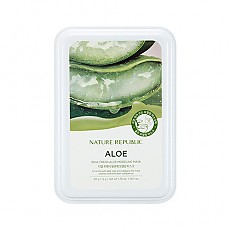 [Nature Republic] Real Fresh Aloe Modeling mascarilla