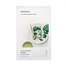 [Innisfree] My Real Squeeze mascarilla (Broccoli)
