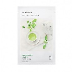 [Innisfree] My Real Squeeze mascarilla (Green Tea)
