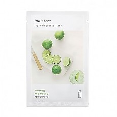 [Innisfree] My Real Squeeze mascarilla (Lime)