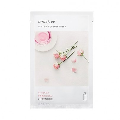 [Innisfree] My Real Squeeze Mask (Rose)