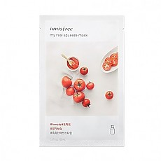 [Innisfree] My Real Squeeze mascarilla (Tomato)