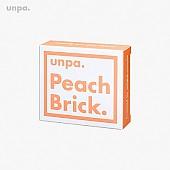 [Unpa] Peach Brick Tone Up Soap
