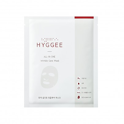 [HYGGEE] All-In-One Wrinkle Care Mask 1ea