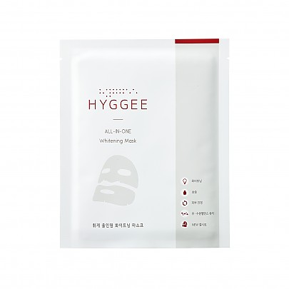 [HYGGEE] All-In-One Whitening mascarilla 1ea